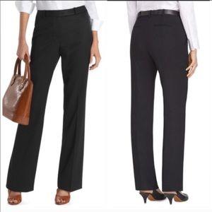 Brooks Brothers Black Caroline Wool Trousers NWT